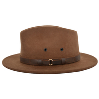 Thomas Cook Casablanca Wool Felt Hat (TCP1948HAT) Chestnut