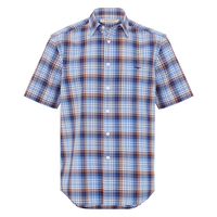 R.M. Williams Mens Hervey Shirt (SH211PL2W01)   [SD]