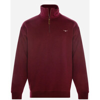 R.M. Williams Mens Mulyungarie Fleece (KZ400690701) Burgundy