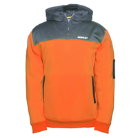 CAT Hi Vis Hoodie (1910070) Orange/Grey  [CW]