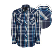 Wrangler Mens Baylor Check L/S Shirt (X8W1111222)   [SD]