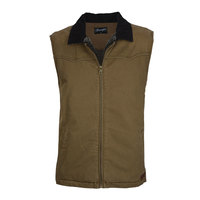 Wrangler Mens Dylan Canvas Vest (X8W1667268)   [SD]