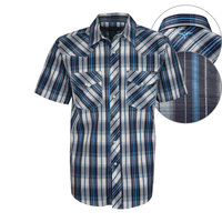 Wrangler Mens Connor Check S/S Shirt (X8S1116298)   [SD]
