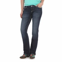 Wrangler Womens Low Rise Ultra Riding Jeans - Shiloh (WRS40GD34) Indigo