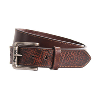 Wrangler Morgan Belt (X9S1922BLT) Coffee/Dark Tan _S19 [SD]