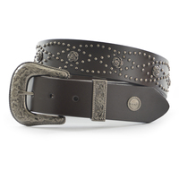 Wrangler Womens Rose Belt (X0W2990BLT) Brown _W20 [SD]