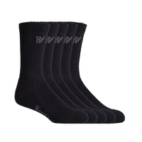 Hard Yakka Mens Crew Work Socks 5 Pack (Y20035)