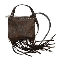 Pure Western Womens Leah Fringe Bag (P8S2956SLB) Coffee [SD]