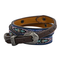 Pure Western Ricki Hat Band (P1W2994HBD) Brown/Multi