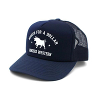 Ringers Western  Ringer For A Dollar Trucker Cap (171120006) Navy & White