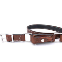 Ringers Western  Hobble Belt (ARB-BHB) Brown