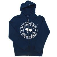 Ringers Western Mens Exmouth Full Zip Hoodie (118204004) Navy