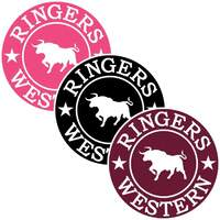 Ringers Western 3 Pack RW Small Round Stickers (172124009)