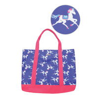 Thomas Cook Horses Print Everyday Tote Bag (T8S2908EDT) Multi [SD]