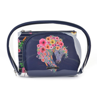 Thomas Cook Tc Cosmetic Bag (3In1) (T0S2947COS) Floral Horsehead [SD]