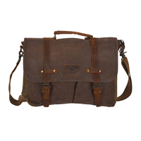 Thomas Cook Gundaroo Messenger Bag (TCP1981BAG) Coffee