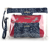 Thomas Cook TC Cosmetic Bag (3 in 1) (T1W2947COS) Dark Navy/White/Pink