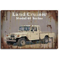 Small Landcruiser Tin Sign (J159)
