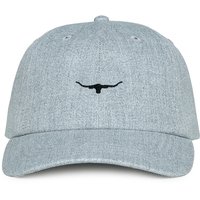 R.M. Williams Mens Mini Longhorn Cap (ACX9OPYY201) Black/Grey