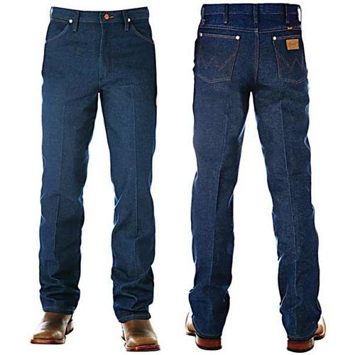 Wrangler Mens Cowboy Cut Slim Fit Rigid Jeans (936DEN)