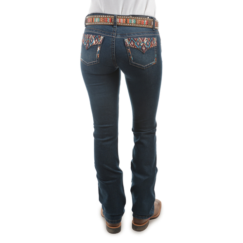 Pure Western Womens Courtney Bootcut Jeans (PCP2208157) Vintage