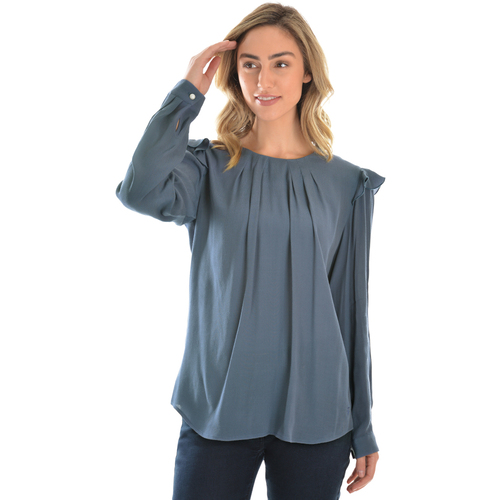 Thomas Cook Womens Olivia L/S Top (T0W2540063) Indigo _W20 [SD]
